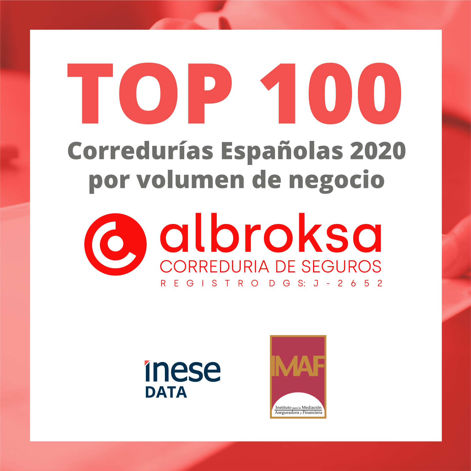 top 100 corredurias